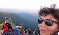 Dimitria Puchiu la Piramida din Ceahlau 6 august 2015